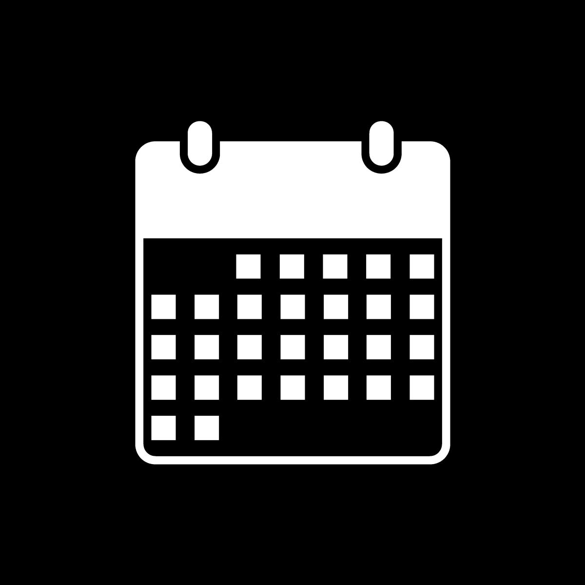 image of estate inspection calendar