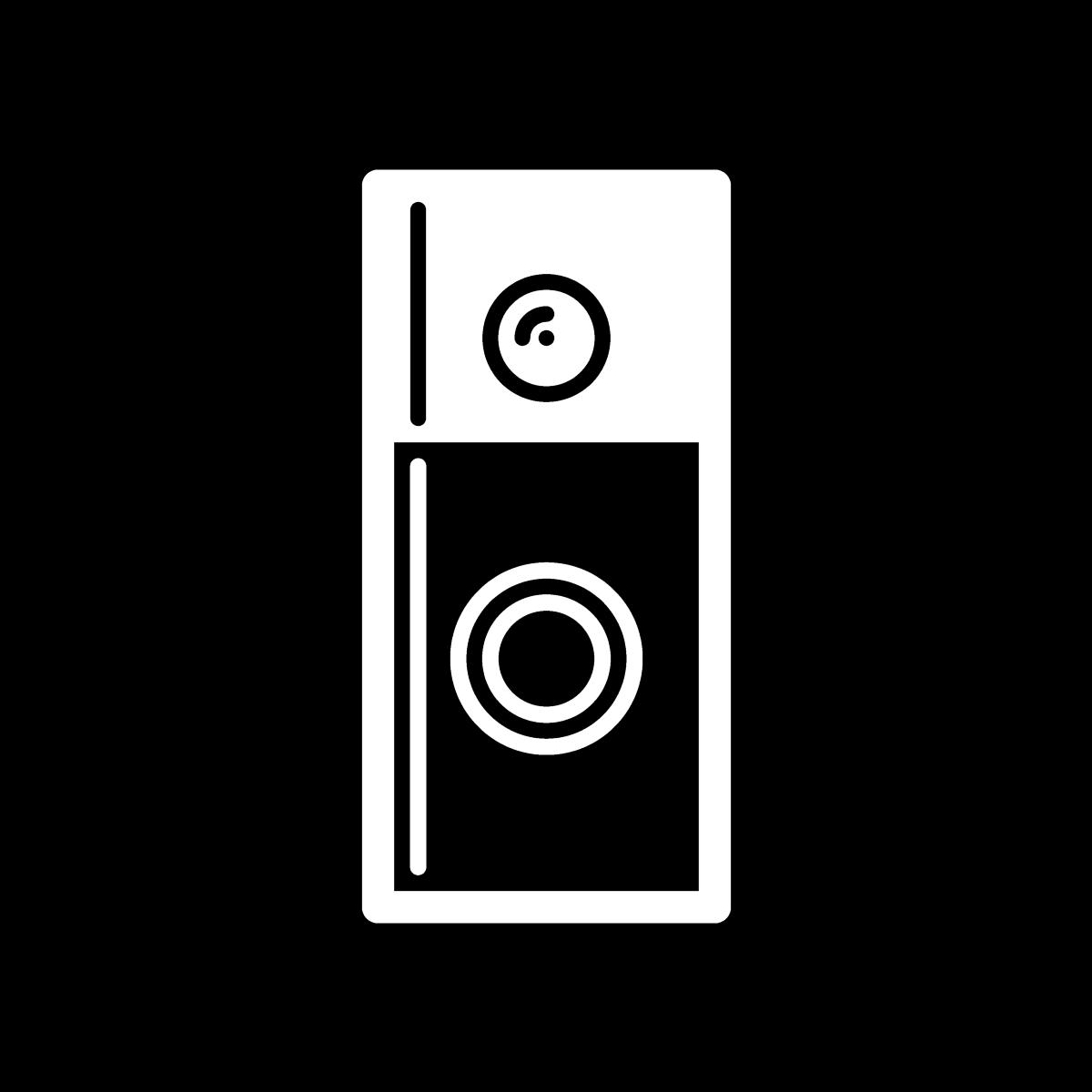 icon depicting CCTV doorbell
